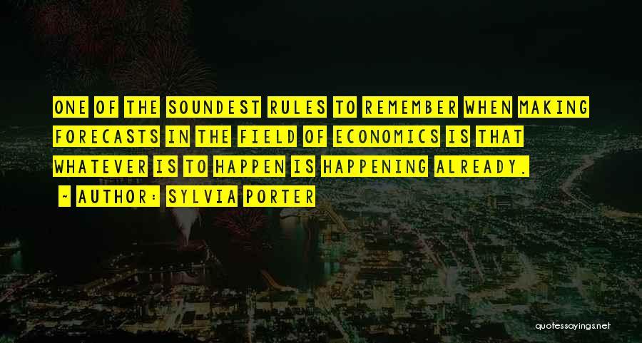 Sylvia Porter Quotes 2078529