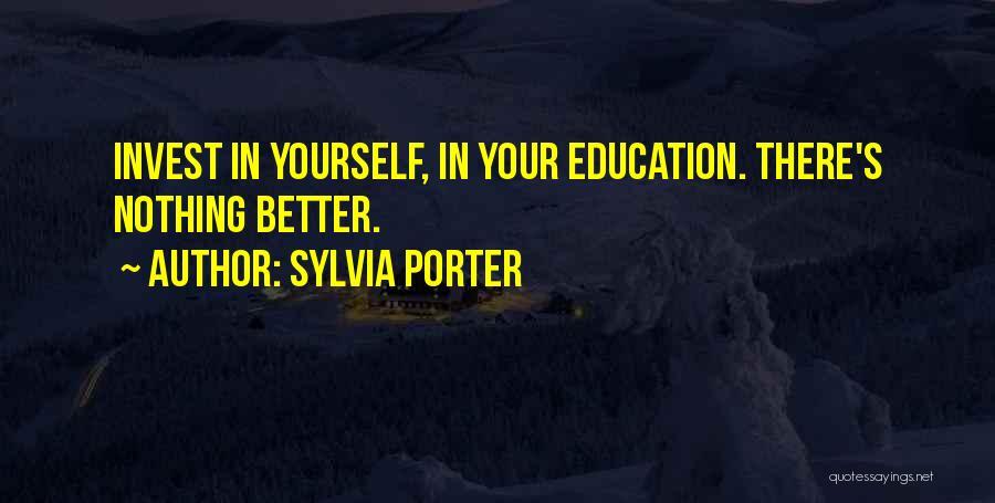 Sylvia Porter Quotes 389513