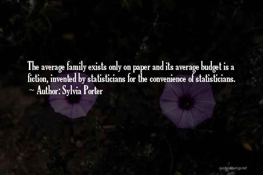 Sylvia Porter Quotes 936812