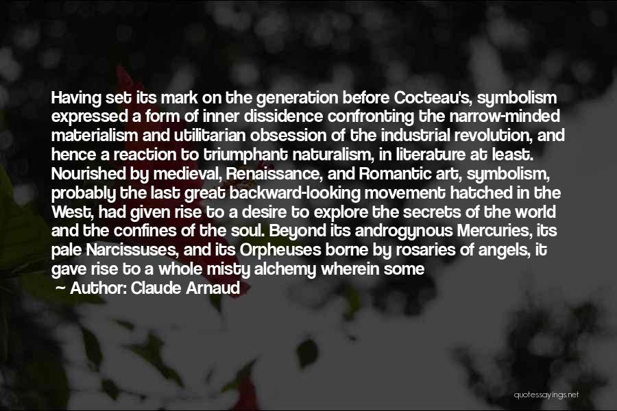 Symbolism In Literature Quotes By Claude Arnaud