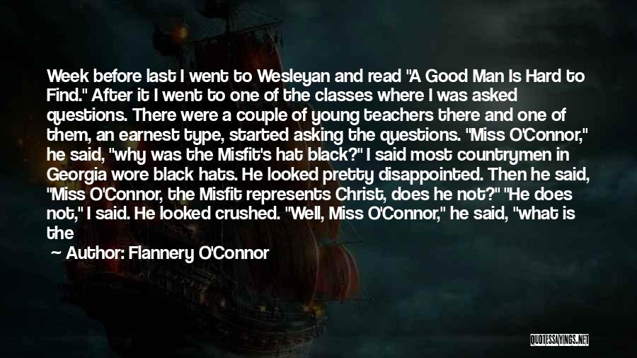 Symbolism In Literature Quotes By Flannery O'Connor