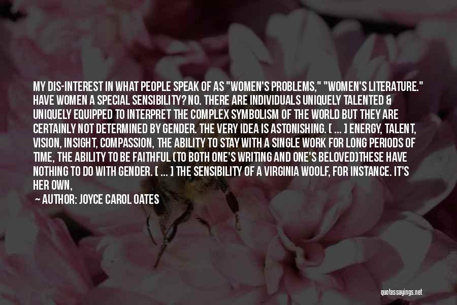 Symbolism In Literature Quotes By Joyce Carol Oates