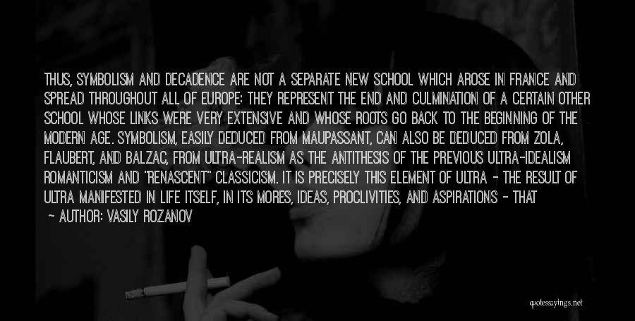 Symbolism In Literature Quotes By Vasily Rozanov