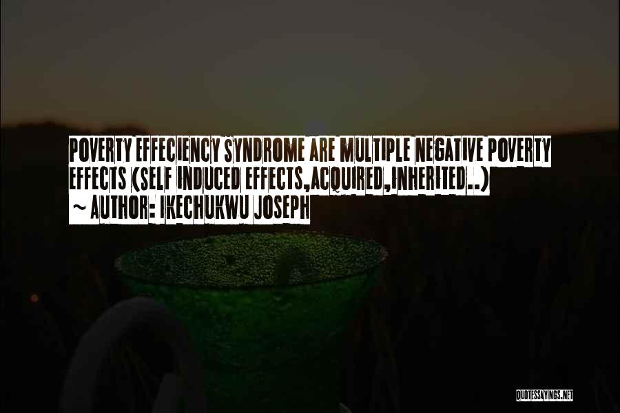 Syndrome Quotes By Ikechukwu Joseph