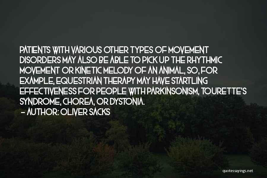 Syndrome Quotes By Oliver Sacks