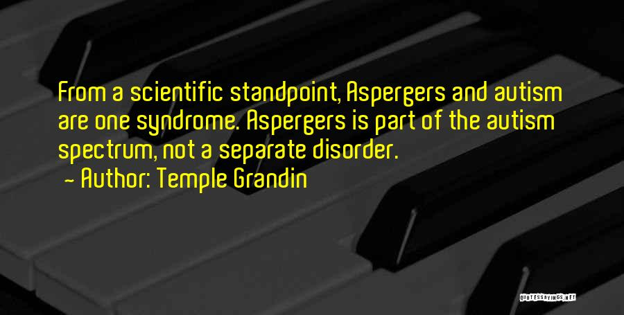 Syndrome Quotes By Temple Grandin