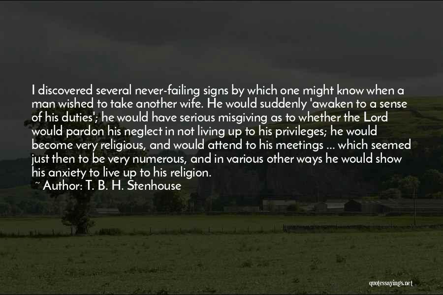 T. B. H. Stenhouse Quotes 1992965