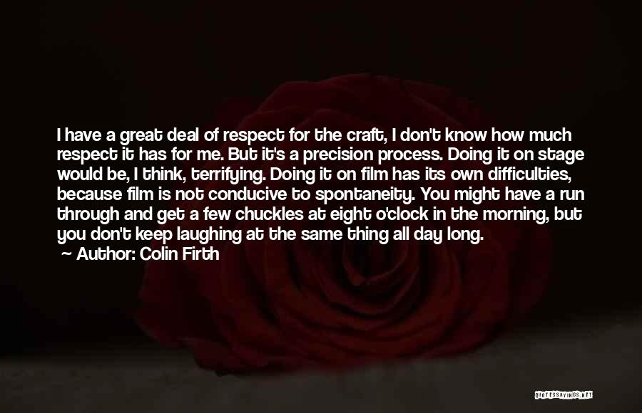 T.f.i.o.s Quotes By Colin Firth