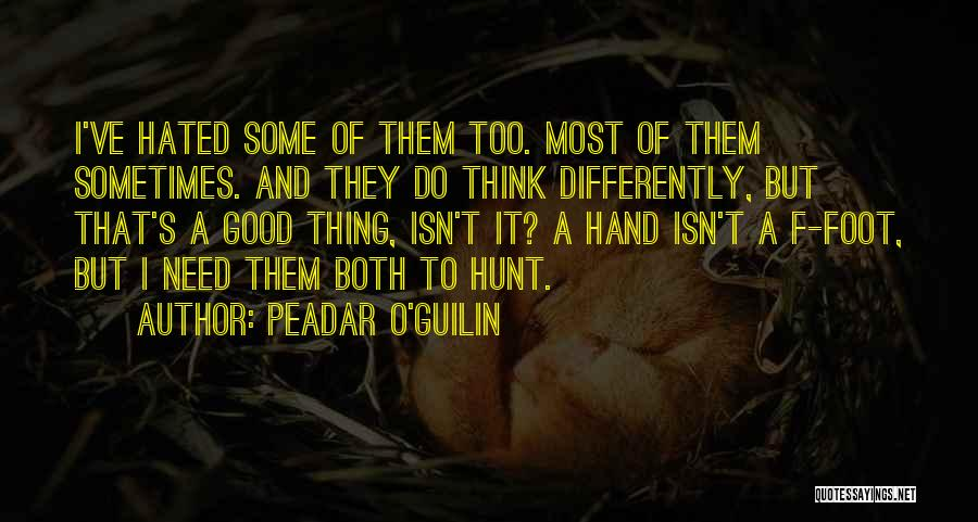 T.f.i.o.s Quotes By Peadar O'Guilin
