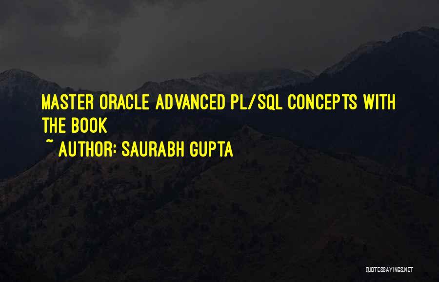 T Sql Quotes By Saurabh Gupta