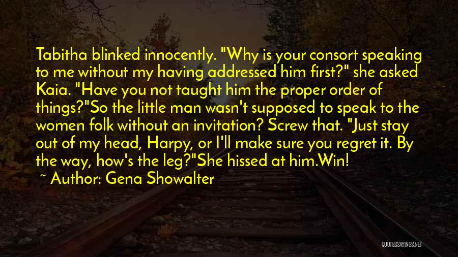 Tabitha Quotes By Gena Showalter