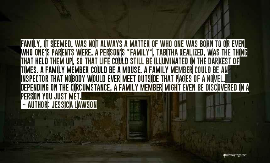 Tabitha Quotes By Jessica Lawson