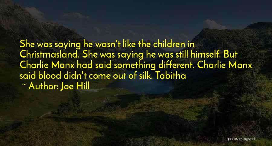Tabitha Quotes By Joe Hill