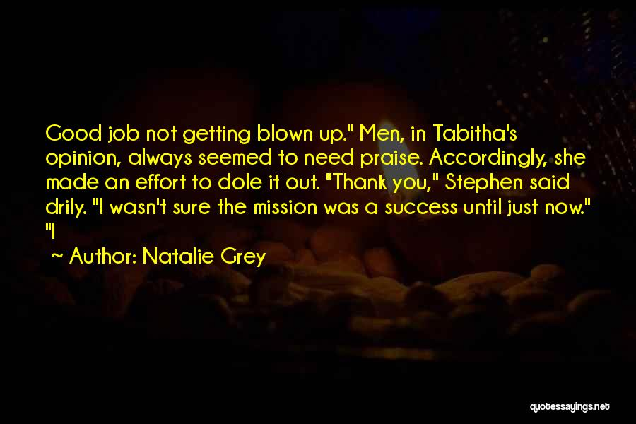 Tabitha Quotes By Natalie Grey