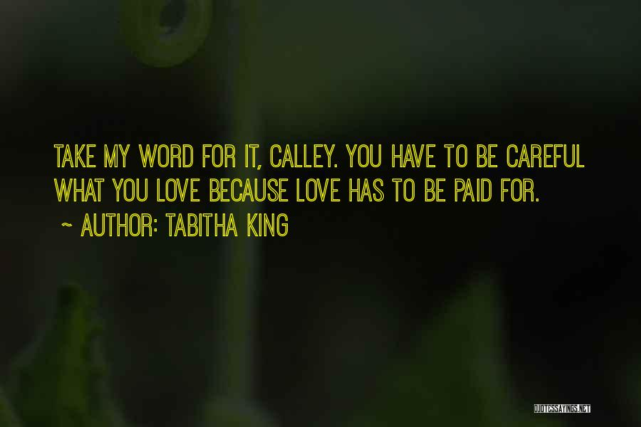 Tabitha Quotes By Tabitha King