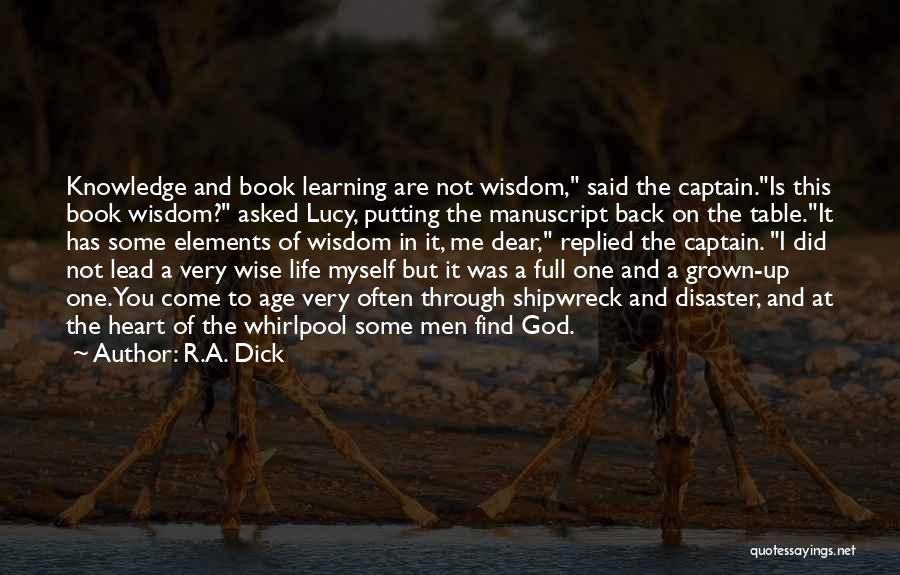 Table Of Elements Quotes By R.A. Dick