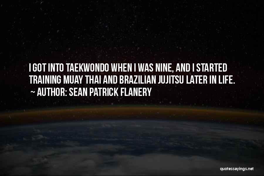 Taekwondo Training Quotes By Sean Patrick Flanery