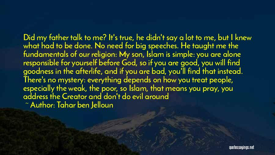 Tahar Ben Jelloun Quotes 1682385