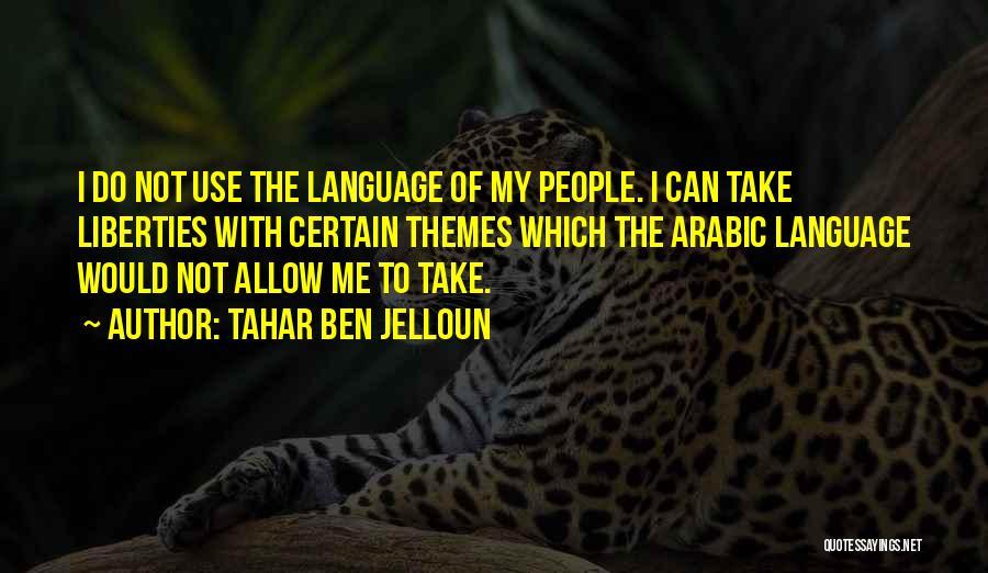 Tahar Ben Jelloun Quotes 1887525