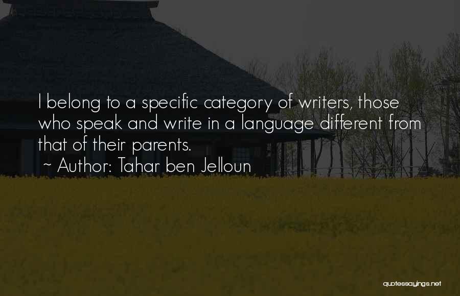 Tahar Ben Jelloun Quotes 2245468
