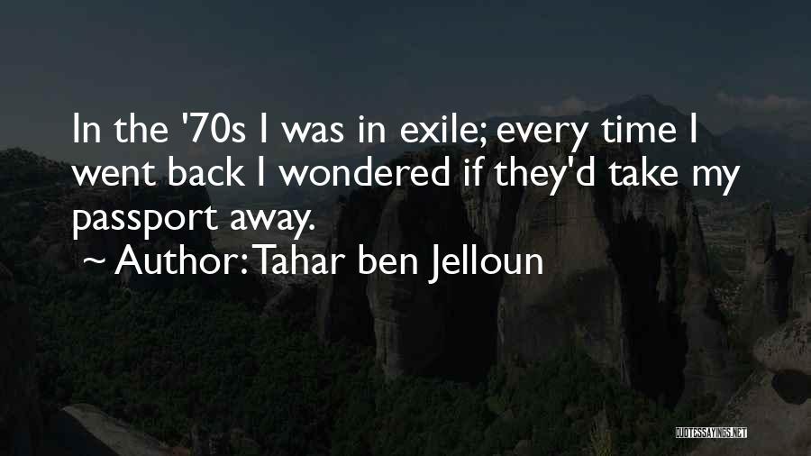 Tahar Ben Jelloun Quotes 459142