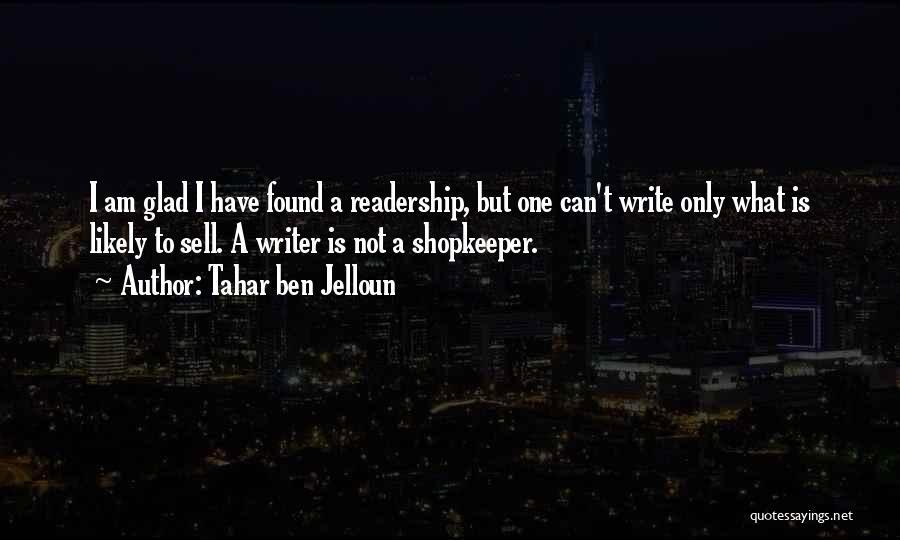 Tahar Ben Jelloun Quotes 519760