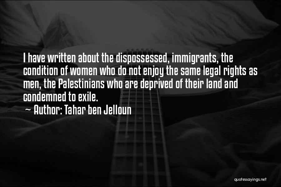 Tahar Ben Jelloun Quotes 772516