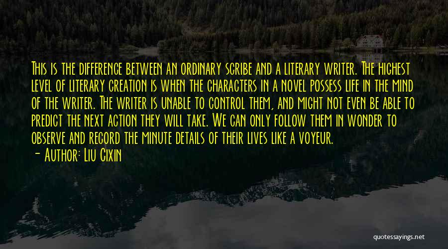 Take Action Quotes By Liu Cixin