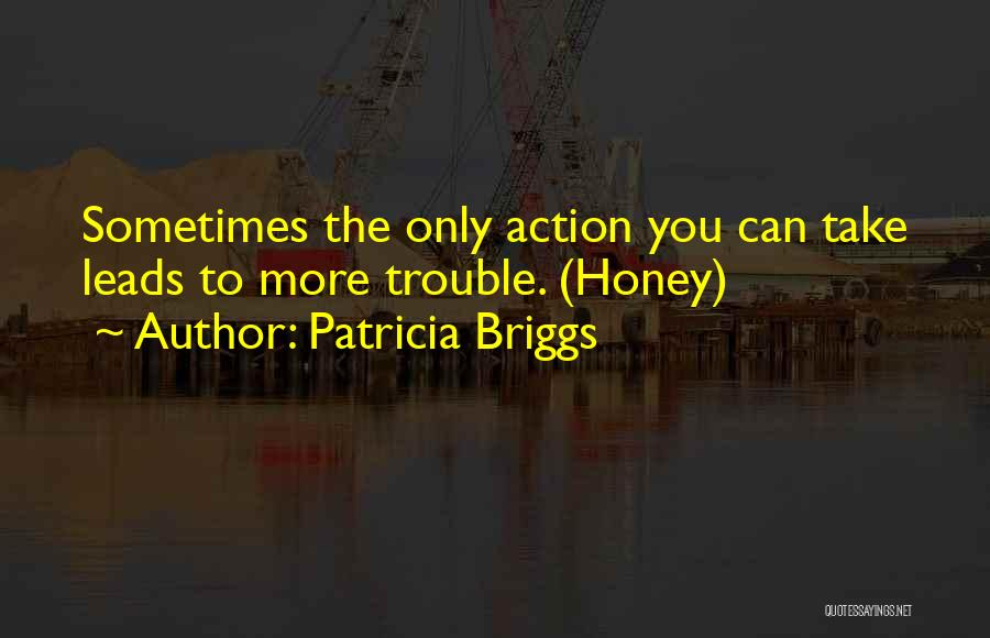 Take Action Quotes By Patricia Briggs