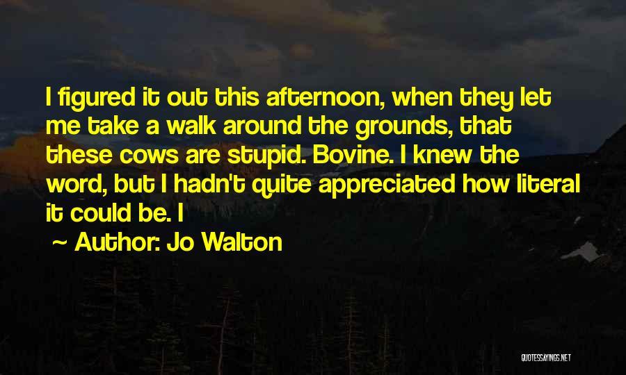 Take Me Out Quotes By Jo Walton