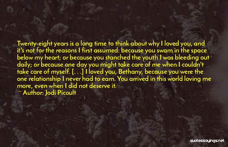 Take Me Out Quotes By Jodi Picoult