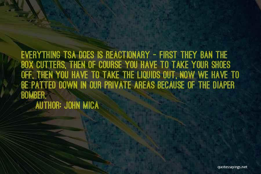 Take Off Your Shoes Quotes By John Mica