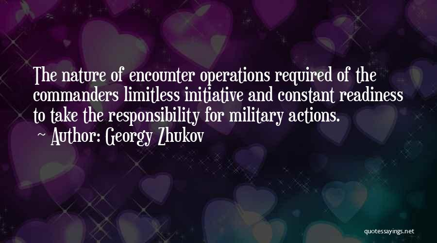 Take Responsibility For Your Own Actions Quotes By Georgy Zhukov