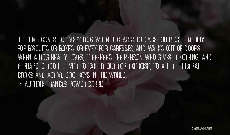 Take Time To Care Quotes By Frances Power Cobbe