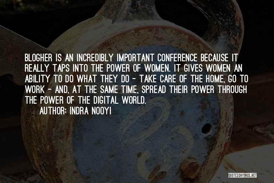 Take Time To Care Quotes By Indra Nooyi