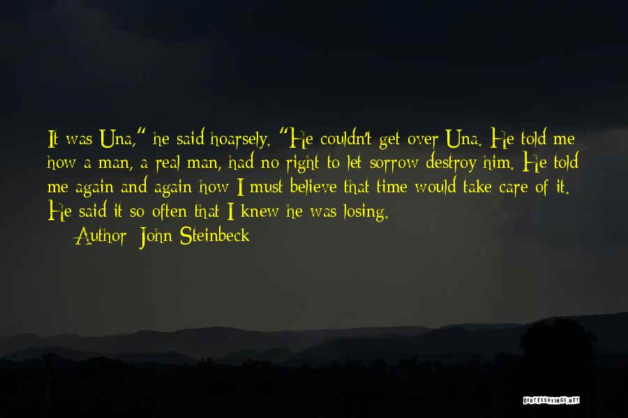 Take Time To Care Quotes By John Steinbeck
