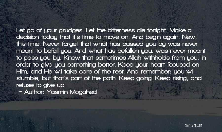 Take Time To Care Quotes By Yasmin Mogahed