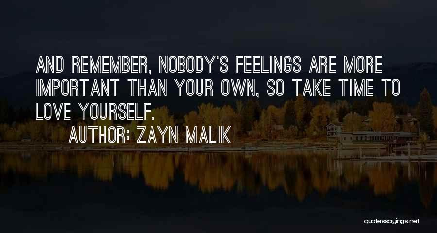 Take Your Time Love Quotes By Zayn Malik
