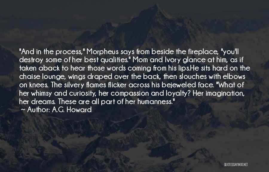 Taken Aback Quotes By A.G. Howard