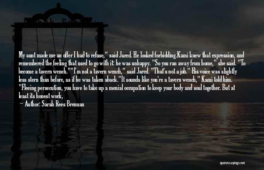 Taken Aback Quotes By Sarah Rees Brennan