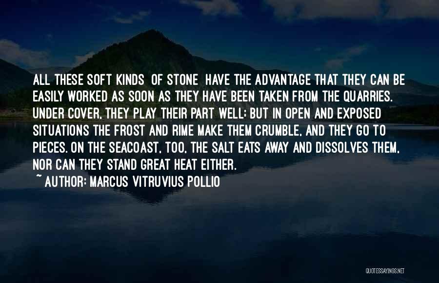 Taken Advantage Off Quotes By Marcus Vitruvius Pollio