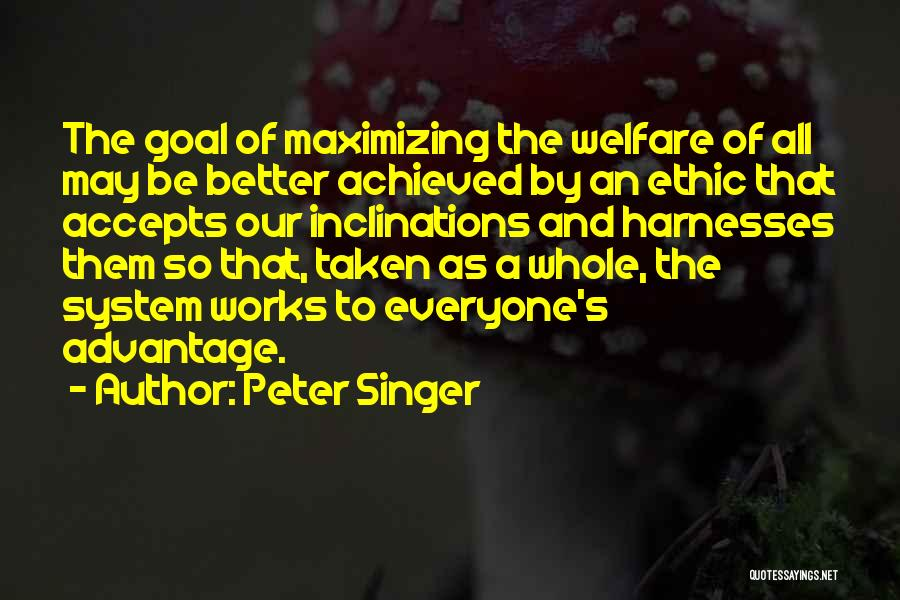 Taken Advantage Off Quotes By Peter Singer