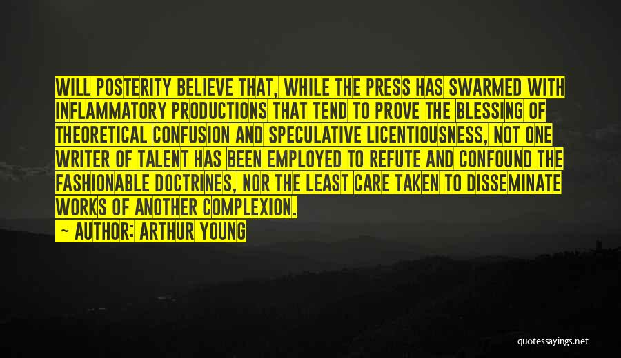 Taken Quotes By Arthur Young