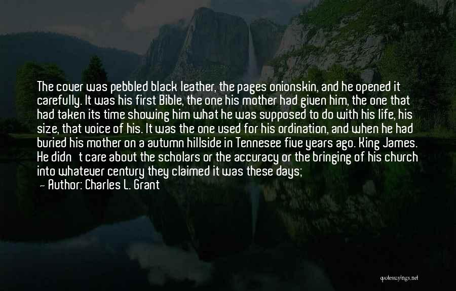 Taken Quotes By Charles L. Grant