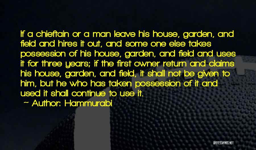 Taken Quotes By Hammurabi