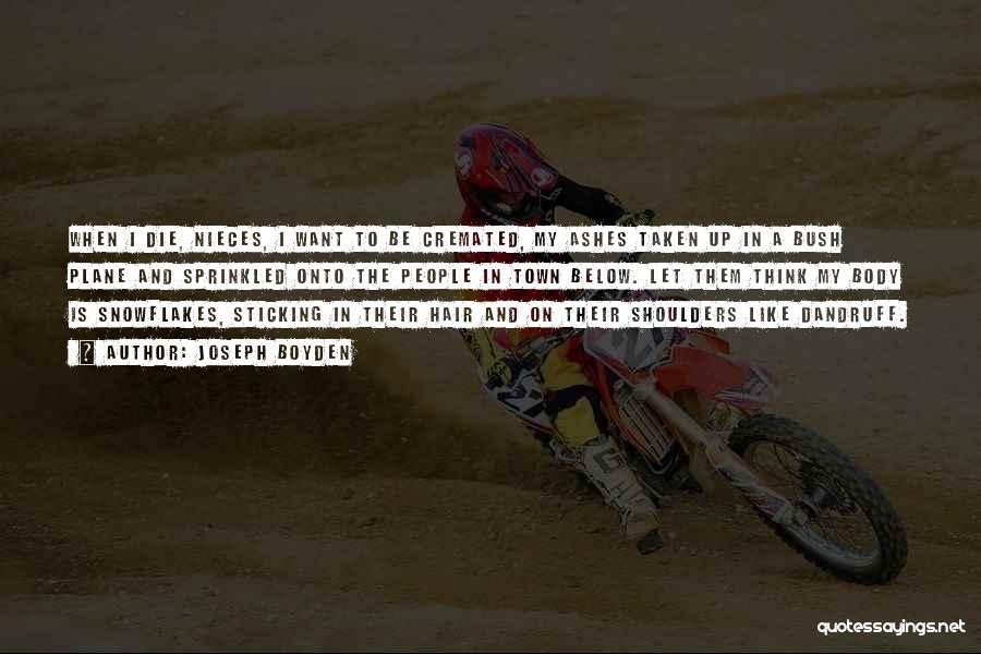 Taken Quotes By Joseph Boyden