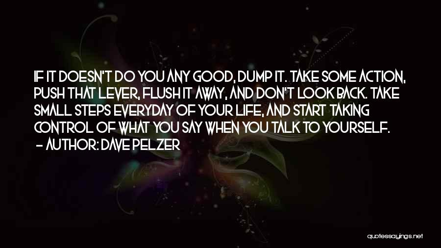 Taking A Few Steps Back Quotes By Dave Pelzer