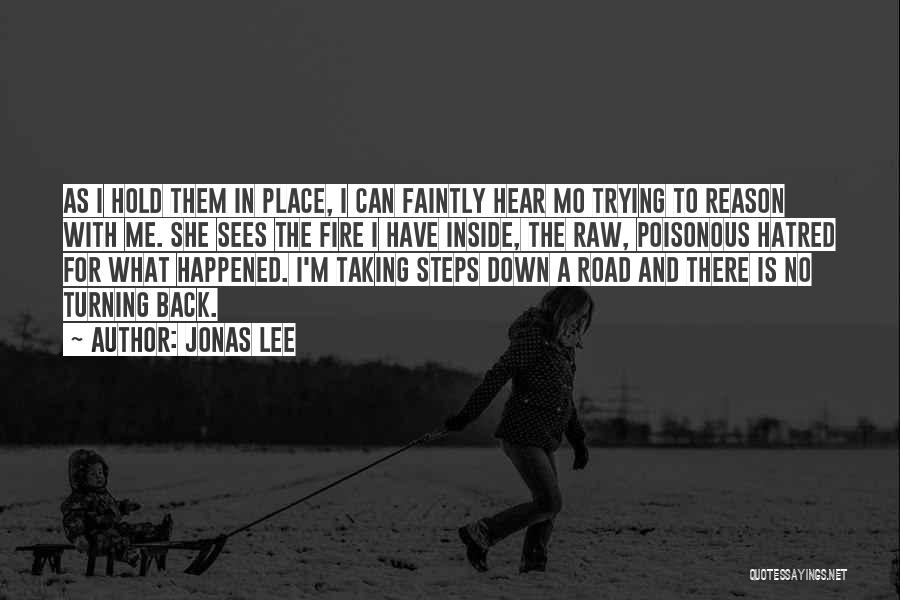 Taking A Few Steps Back Quotes By Jonas Lee