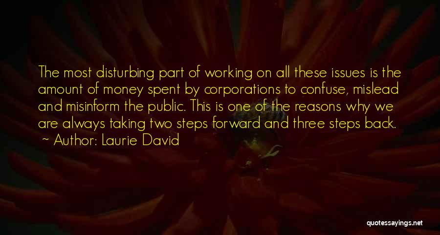 Taking A Few Steps Back Quotes By Laurie David