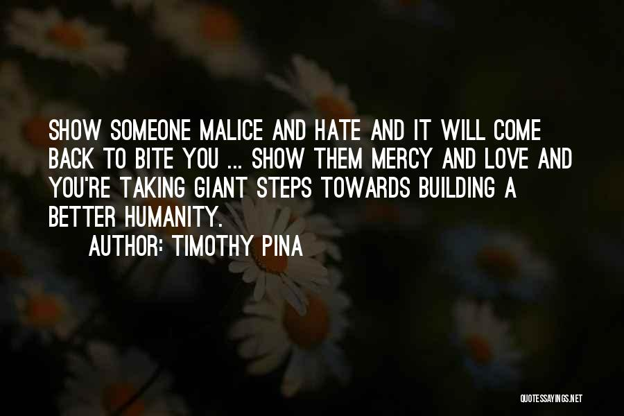 Taking A Few Steps Back Quotes By Timothy Pina